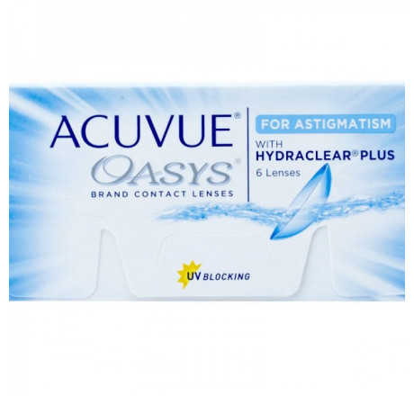 Acuvue Oasys for Astigmatism (6) lentes de contacto do fabricante Johnson & Johnson na categoria Optica Iberica