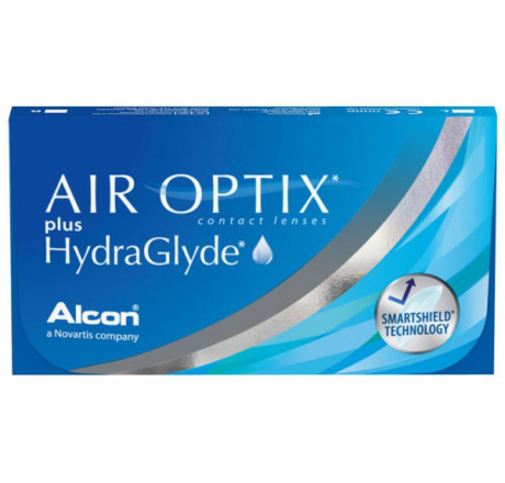 Air Optix plus HydraGlyde (3) lentes de contacto do fabricante Alcon / Cibavision na categoria Optica Iberica
