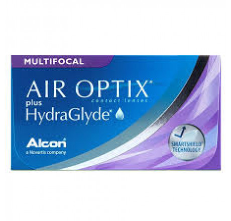 Air Optix Plus HydraGlyde Multifocal (3) lentes de contacto do fabricante Alcon / Cibavision na categoria Optica Iberica