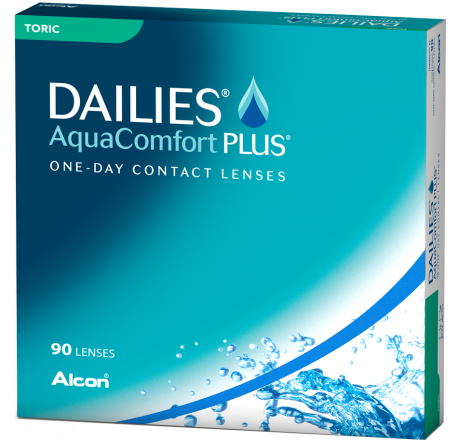Dailies Aquacomfort Plus Toric (90) lentes de contacto do fabricante Alcon / Cibavision na categoria Optica Iberica