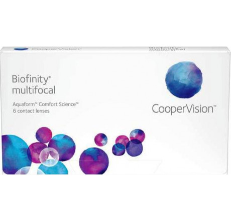 Biofinity Multifocal (3) lentes de contacto do fabricante CooperVision na categoria Optica Iberica