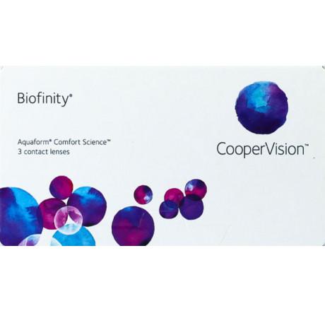 Biofinity (3) lentes de contacto do fabricante CooperVision na categoria Optica Iberica