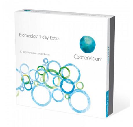 Biomedics 1 day Extra (90) lentes de contacto do fabricante CooperVision na categoria Optica Iberica