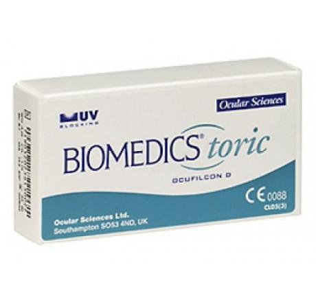 Biomedics Toric (6) lentes de contacto do fabricante CooperVision na categoria Optica Iberica