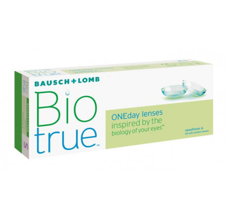 Biotrue ONEday (30) lentes de contacto do fabricante Bausch & Lomb na categoria Optica Iberica