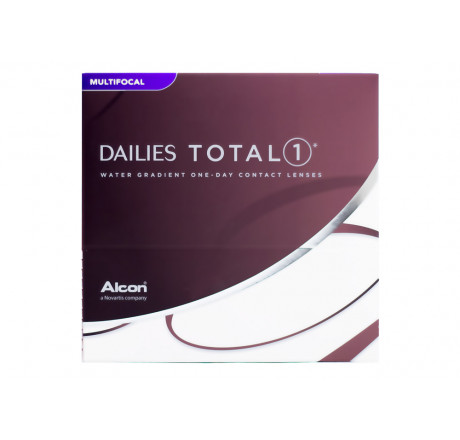 Dailies Total 1 Multifocal (90) lentes de contacto do fabricante Alcon / Cibavision na categoria Optica Iberica