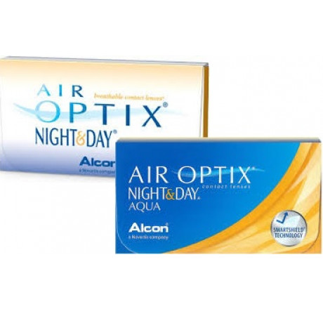 Air Optix Night and Day Aqua (6) lentes de contacto do fabricante Alcon / Cibavision na categoria Optica Iberica