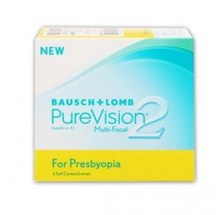 PureVision2 for Presbyopia (6) lentes de contacto do fabricante Bausch & Lomb na categoria Optica Iberica