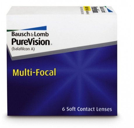 Purevision Multi-Focal  lentes de contacto do fabricante Bausch & Lomb na categoria Optica Iberica