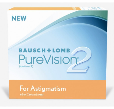 Purevision2 HD For Astigmatism (6) lentes de contacto do fabricante Bausch & Lomb na categoria Optica Iberica