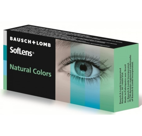 Soflens Natural Colors (Plano)  lentes de contacto do fabricante Bausch & Lomb na categoria Optica Iberica