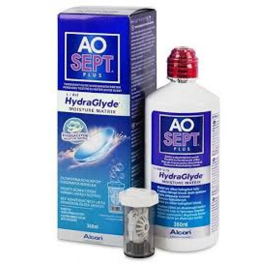 5da5906632d1b Aosept Plus Hydraglyde - 1 x 360ml. do fabricante Alcon   Cibavision na  categoria Optica