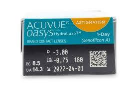 e9e00150eb687 ... Acuvue Oasys 1-Day for Astigmatism (30) lentes de contacto do  fabricante Johnson