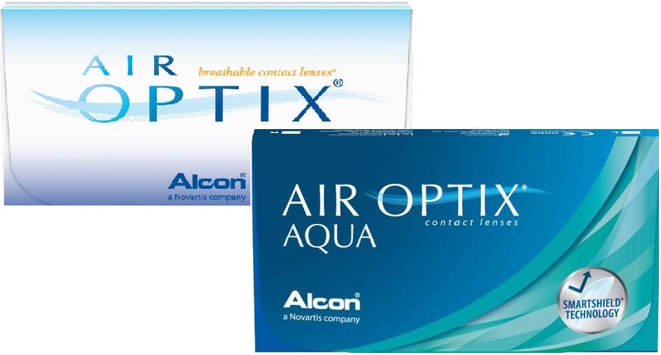 ea41a6c9d0fbe Air Optix Aqua (6) lentes de contacto do fabricante Alcon   Cibavision na  categoria ...