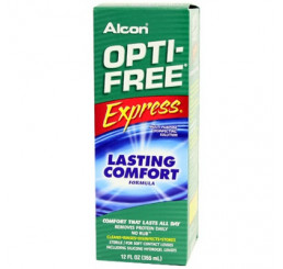 Optifree Express 1 x 355 ml. do fabricante Alcon / Cibavision na categoria Fabricantes