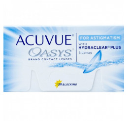 Acuvue Oasys for Astigmatism (6) do fabricante Johnson & Johnson na categoria Em destaque