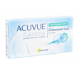 Acuvue Oasys for Presbyopia  do fabricante Johnson & Johnson na categoria Fabricantes