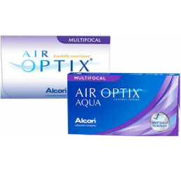 Air Optix Aqua Multifocal (3) do fabricante Alcon / Cibavision na categoria Lentes multifocais