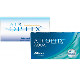 Air Optix Aqua (6) do fabricante Alcon / Cibavision na categoria Em destaque