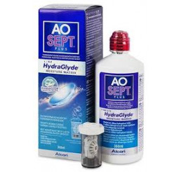 Aosept Plus Hydraglyde - 1 x 360ml. do fabricante Alcon / Cibavision na categoria Fabricantes