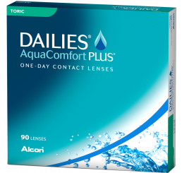 Dailies Aquacomfort Plus Toric (90) do fabricante Alcon / Cibavision na categoria Alcon