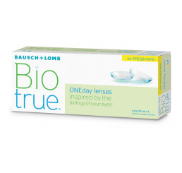 Biotrue Oneday for Presbyopia (30) do fabricante Bausch & Lomb na categoria Lentes multifocais