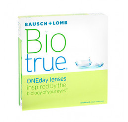 Biotrue ONEday (90) do fabricante Bausch & Lomb na categoria Fabricantes