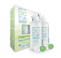 Biotrue Flight Pack - 2 x 60ml. do fabricante Bausch & Lomb na categoria Em destaque