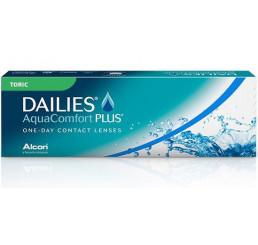 Dailies Aquacomfort Plus Toric (30) do fabricante Alcon / Cibavision na categoria Fabricantes