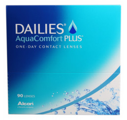 Dailies AquaComfort Plus (90) do fabricante Alcon / Cibavision na categoria Em destaque