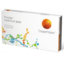 Proclear Multifocal Toric (3) do fabricante CooperVision na categoria Fabricantes