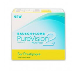 PureVision2 for Presbyopia (6) do fabricante Bausch & Lomb na categoria Lentes multifocais