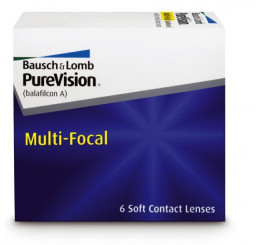 Purevision Multi-Focal  do fabricante Bausch & Lomb na categoria Lentes multifocais