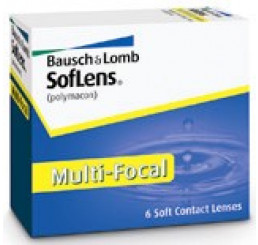 Soflens Multi-Focal  (6) do fabricante Bausch & Lomb na categoria Lentes multifocais