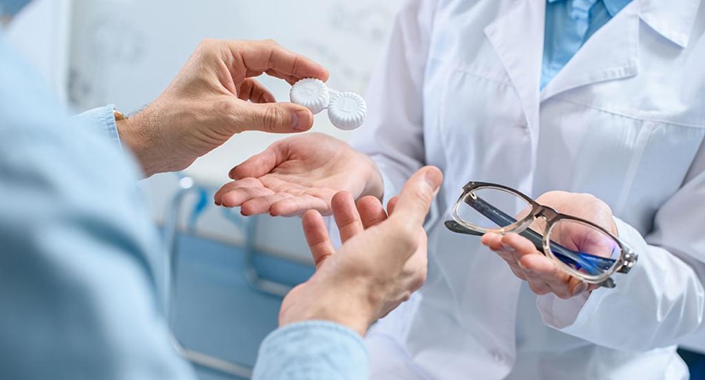 As lentes de contacto são seguras de usar?